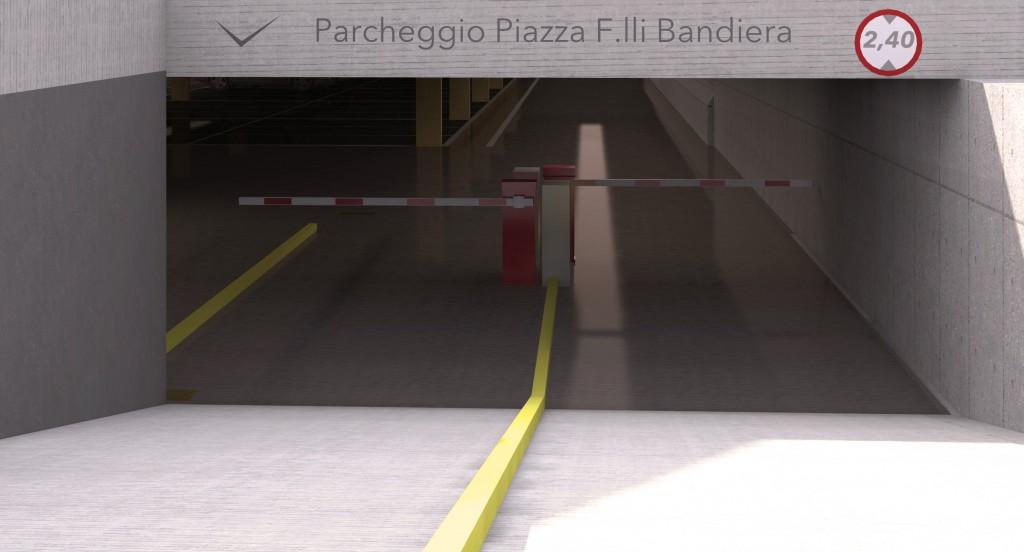 ingresso via Roma