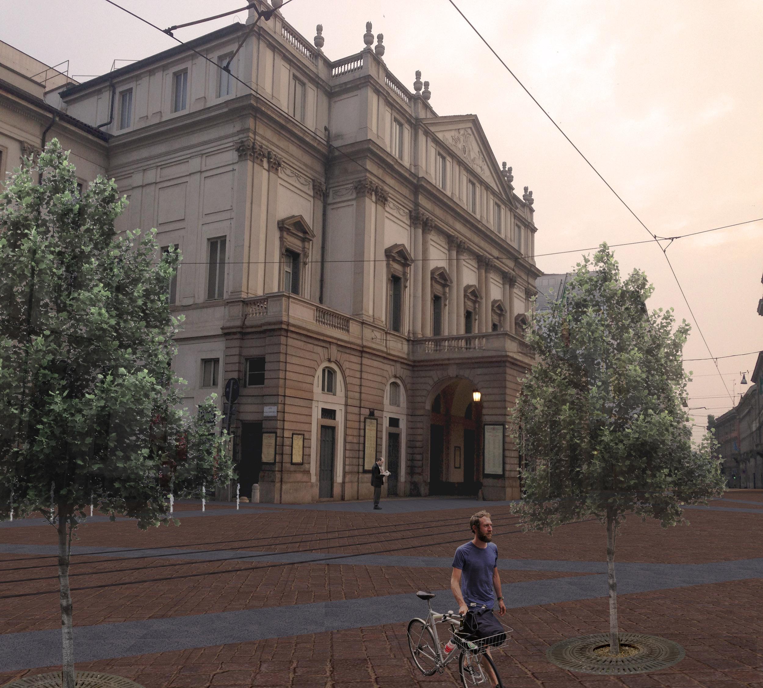 """Concorso internazionale di idee """"Piazza della Scala"""" – Essequadrop"""